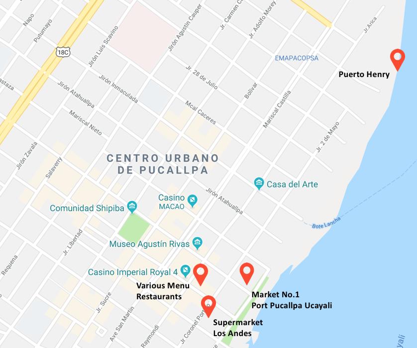 Centro Urbano de Pucallpa