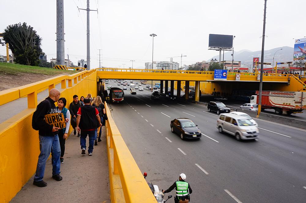 Public transport Pueta Benavides