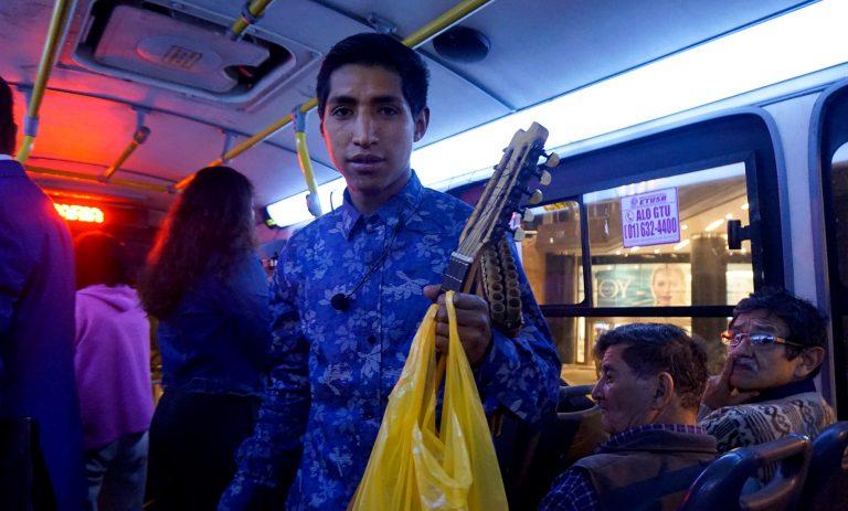 Lima Bus Musician