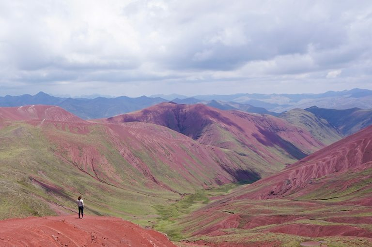 No tourists red valley