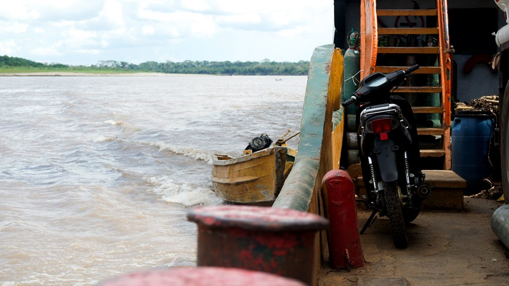 Cargo Boat Pucallpa Iquitos Amazon