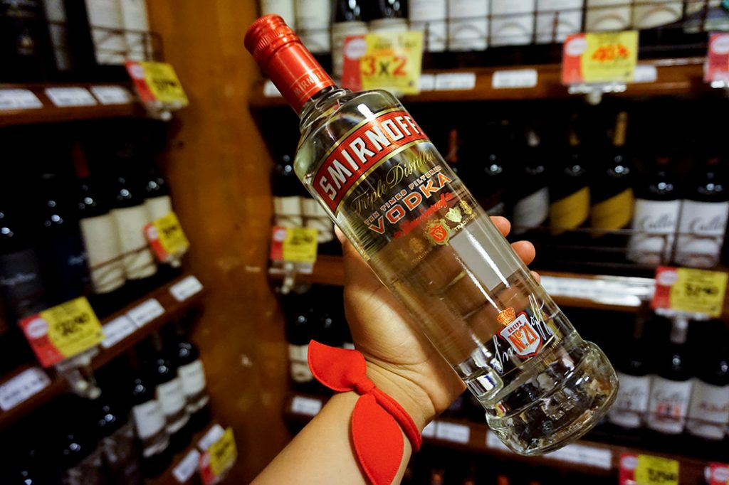 Smirnoff Cheap Vodka Lima