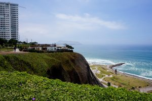 Lima Malecon Cliffs