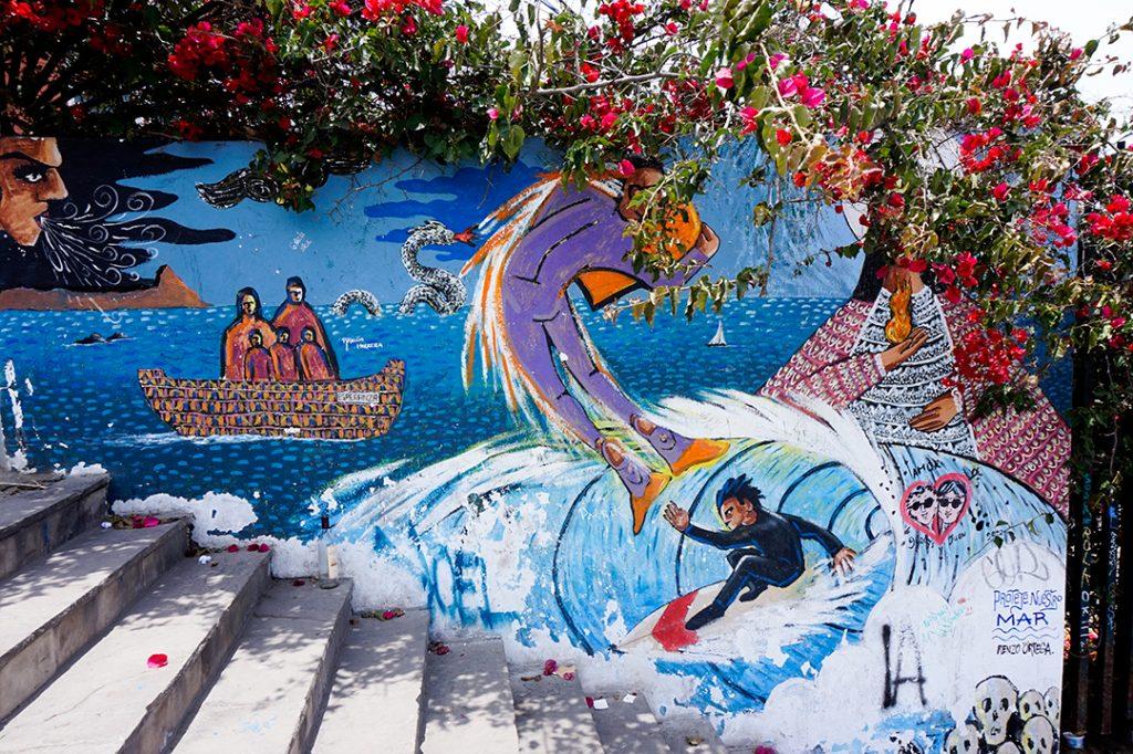 Where to live in Lima Barranco Mural Grafiti