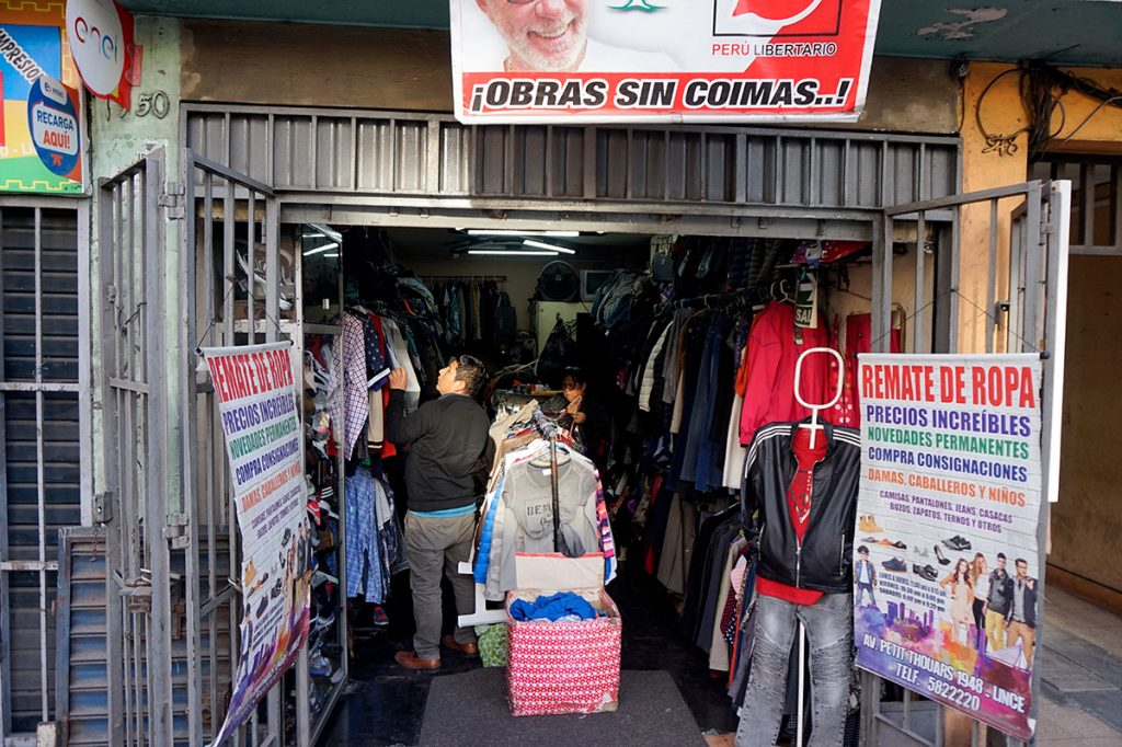 Secondhand store Since Lima