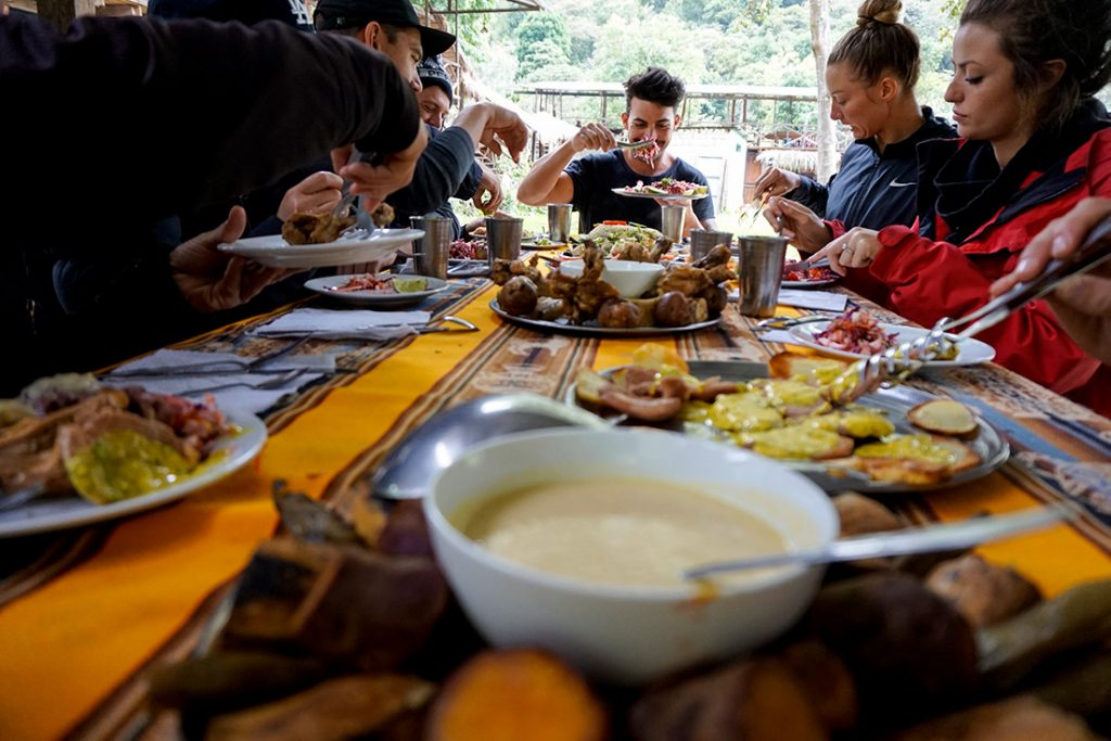 Food Salkantay Trek compared