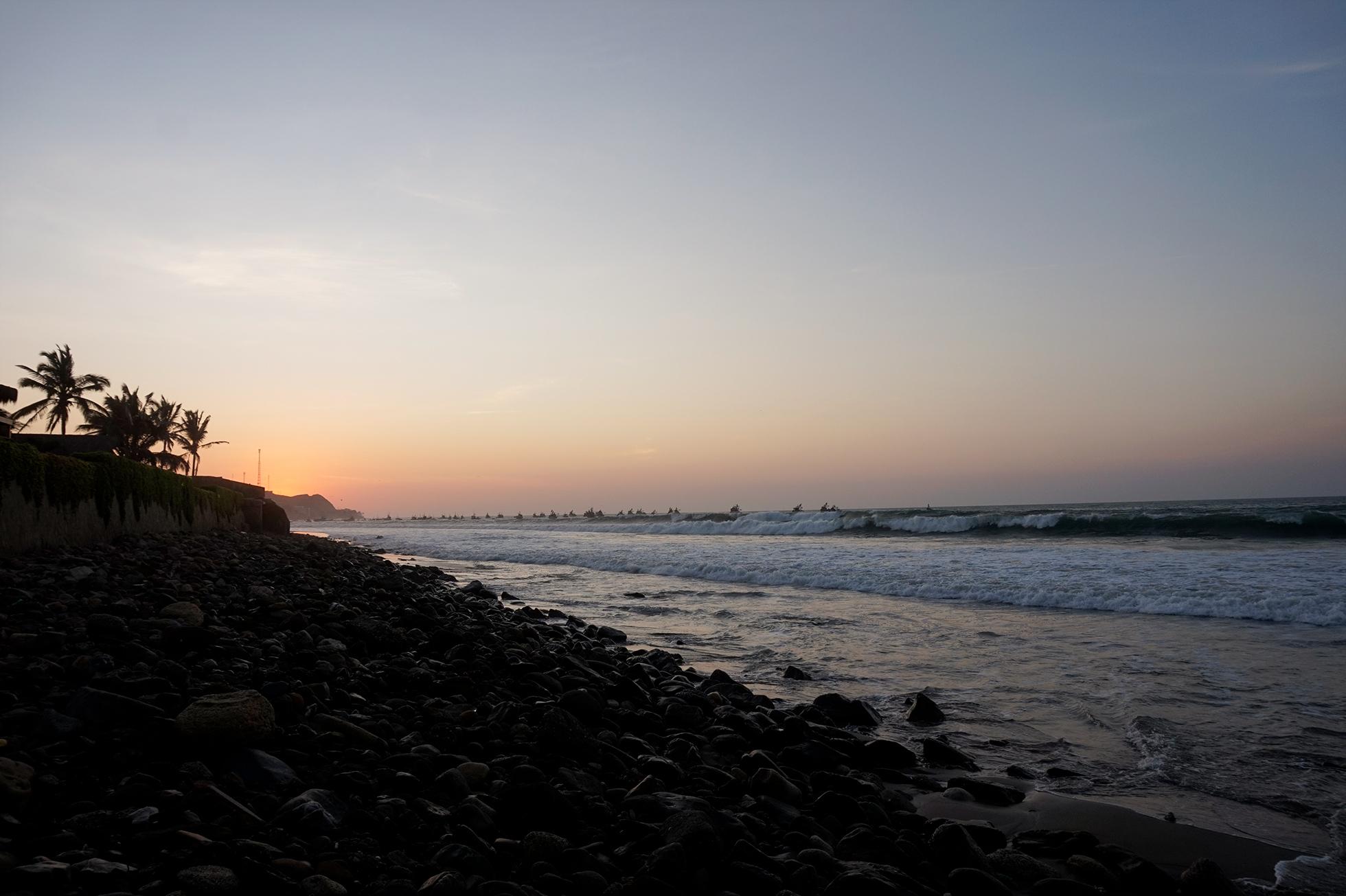 Sunset Nightlife Mancora Peru
