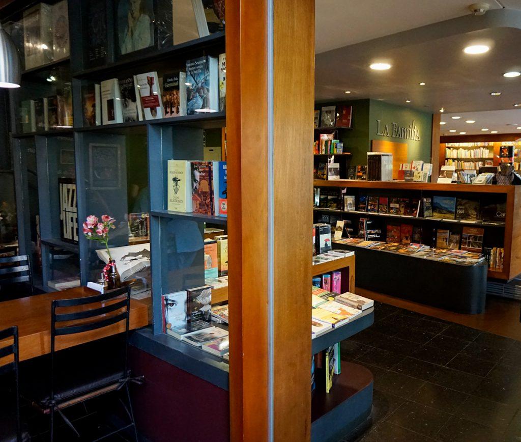 Agora Libreria Familia book store coffee