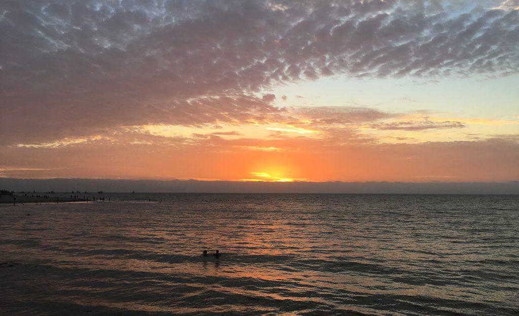 Sunset Mancora
