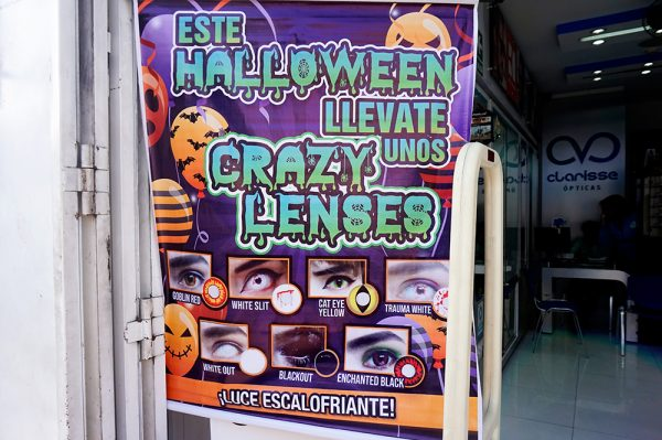 Fake Eye contacts Halloween Lima