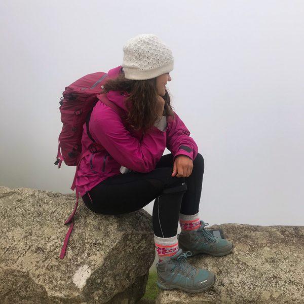 View Cloudy Machu Picchu